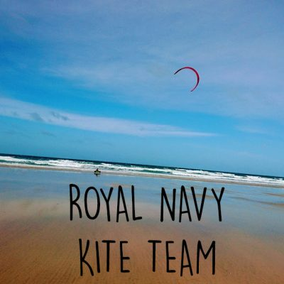 royal navy kitesurfing team