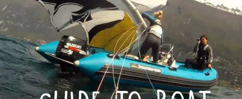 kitesurfing boat rescue