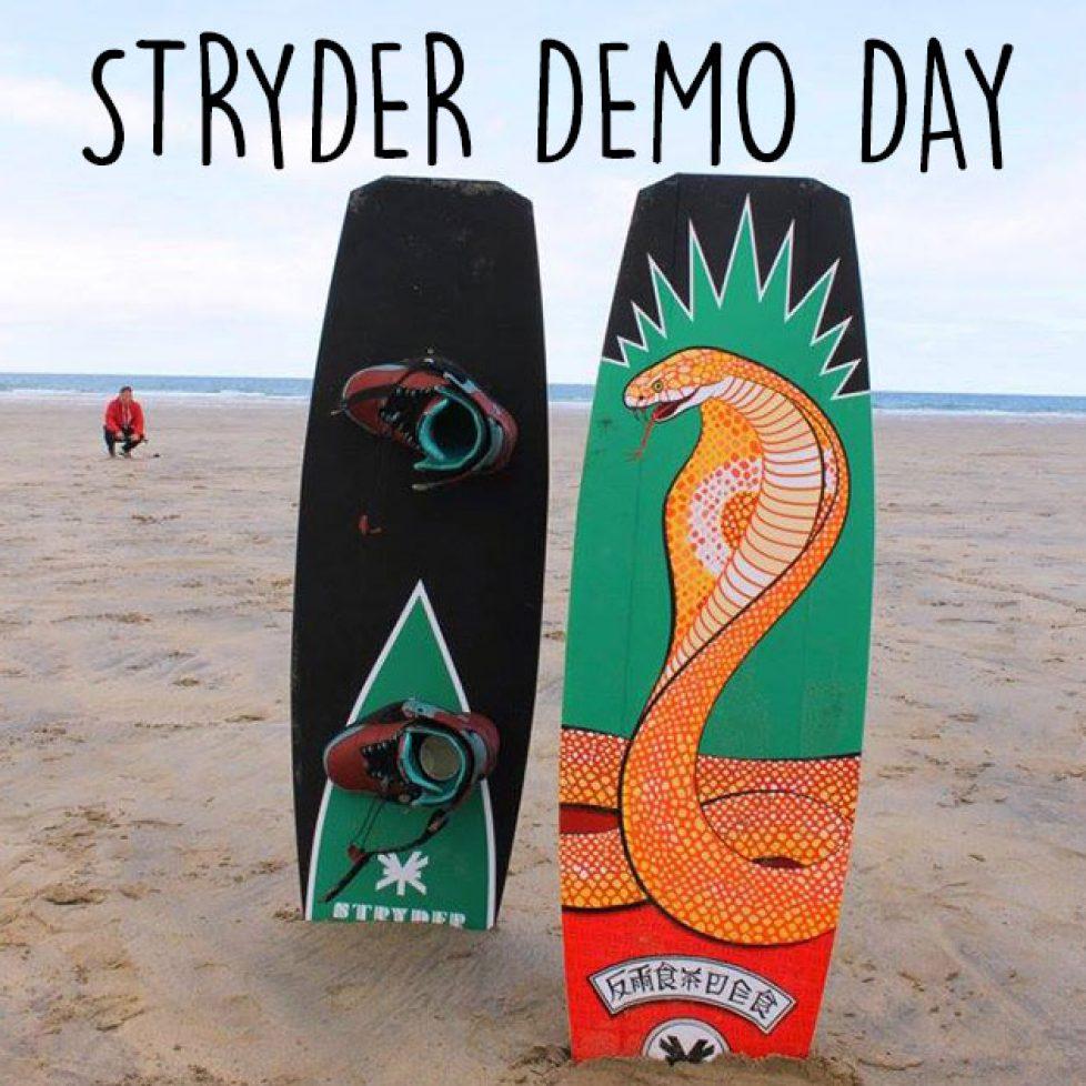 stryder demo day