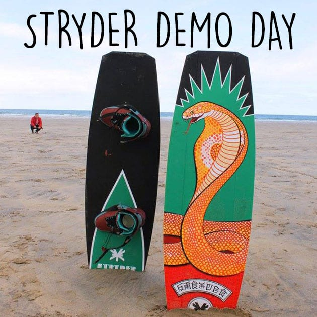 stryder demo day