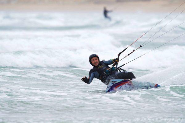 kitesurfing in marazion