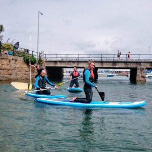 stand up paddleboard lesson marazion penzance hayle cornwall