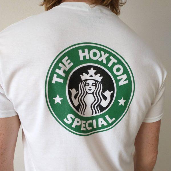 Hoxton Cafe Tee Shirt Big Back