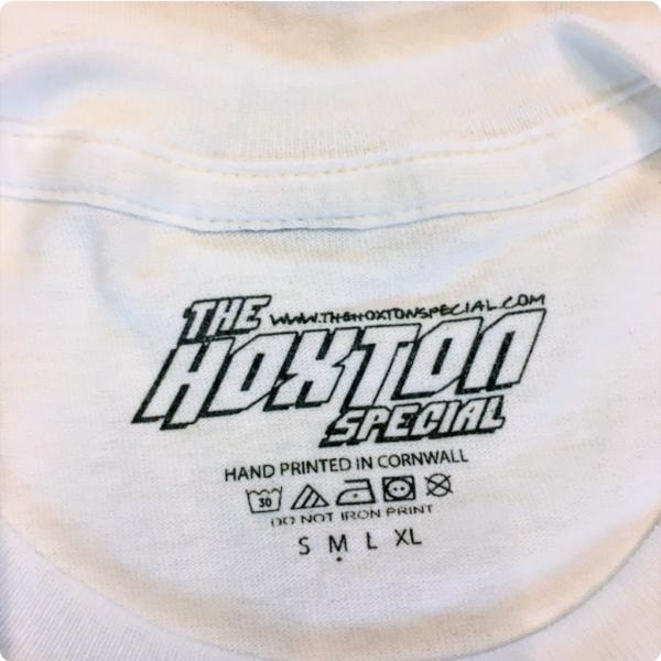 Hoxton Cafe Tee Shirt Label