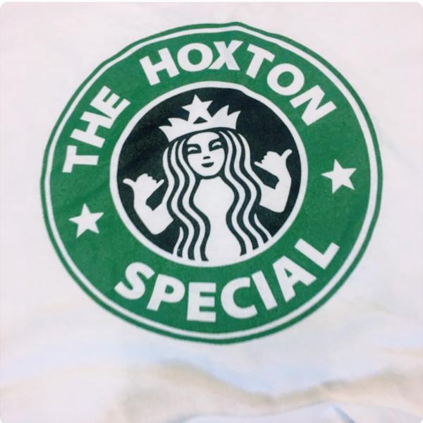 Hoxton Cafe Tee Shirt Logo