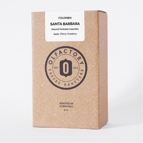 santa barbara columbia olfactory coffee