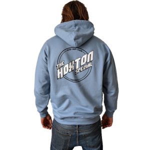 hoxton special hoodie blue